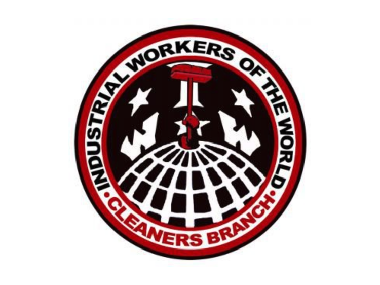 IWW Cleaners Branch logo